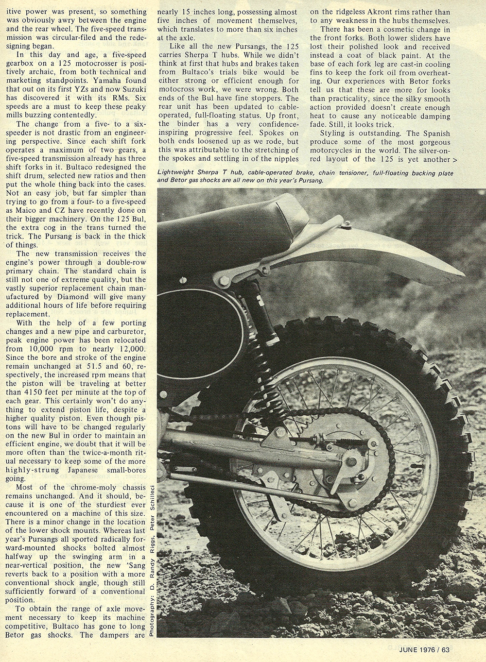 1976 Bultaco 125 Pursang road test 04.jpg