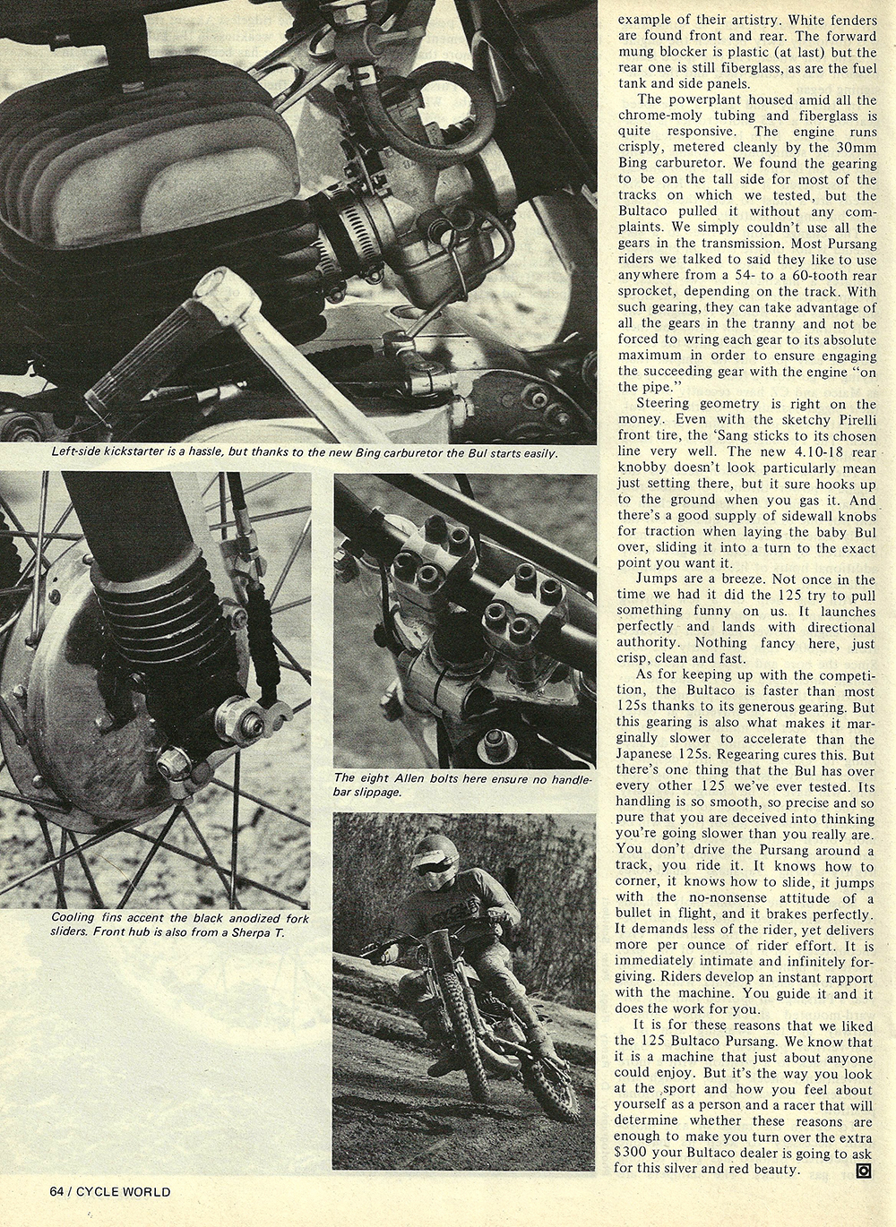 1976 Bultaco 125 Pursang road test 05.jpg