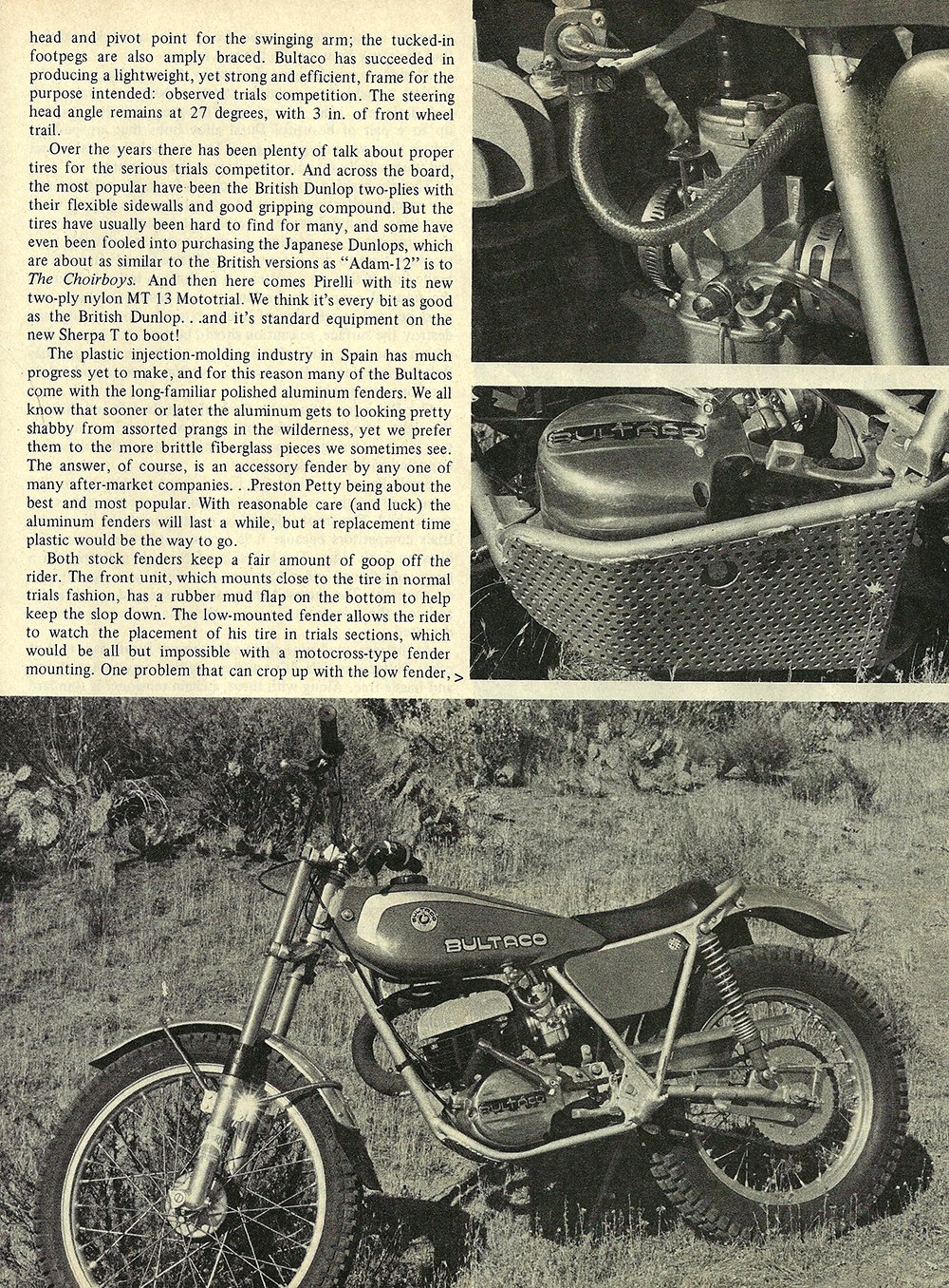 1976 Bultaco Sherpa T 350 road test 02.jpg