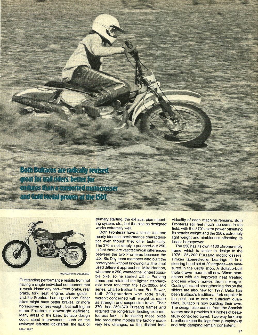 1977 Bultaco 250 and 380 Frontera road test 2.jpg
