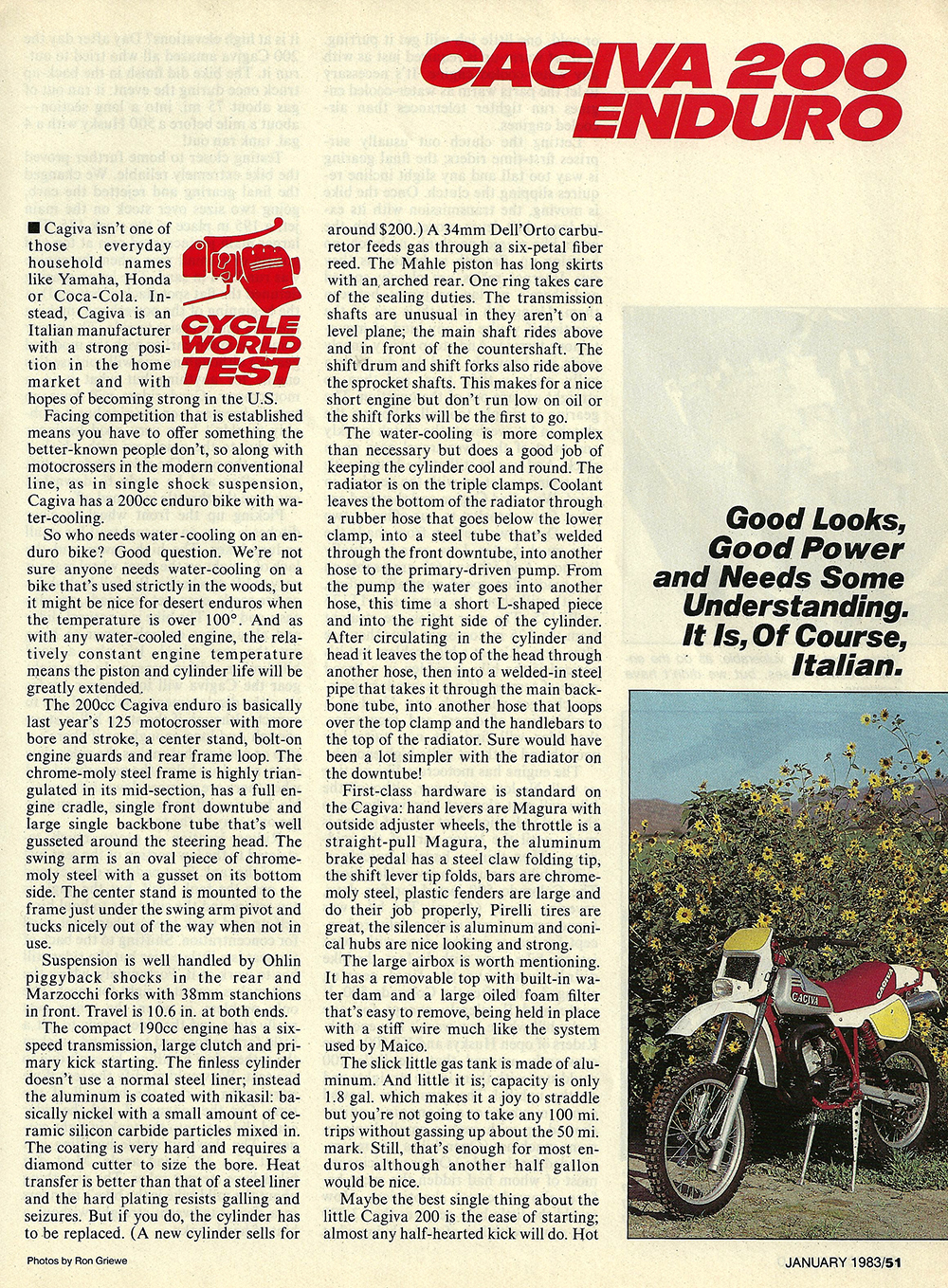 1983 Cagiva 200 Enduro road test 02.jpg