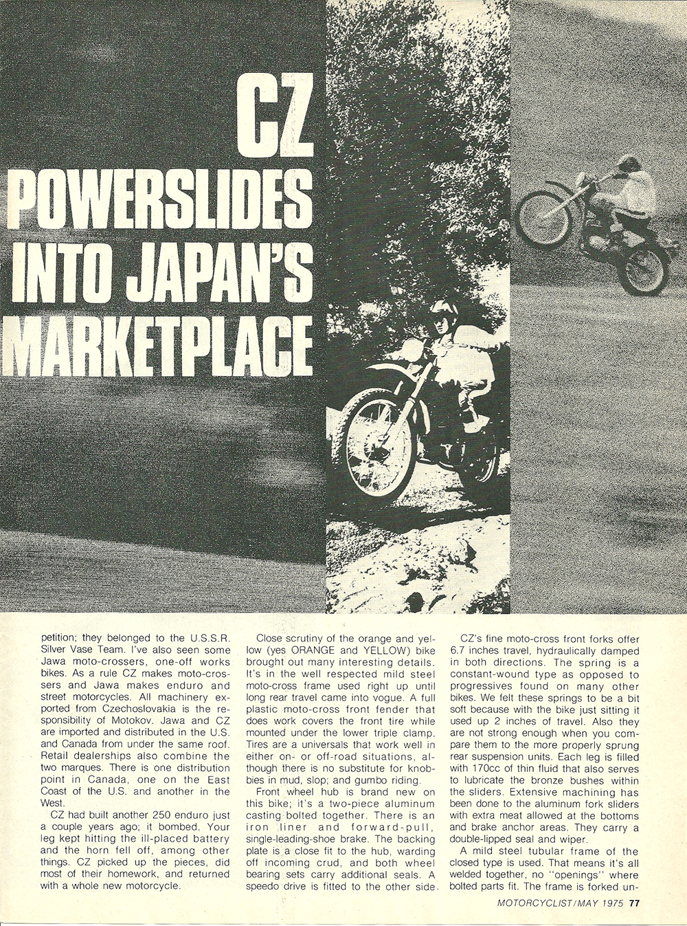 1975 CZ 250 Enduro road test 2.jpg