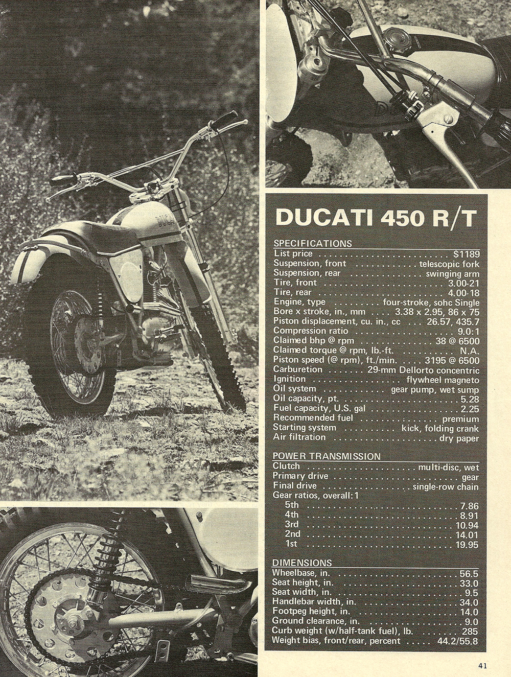 1971 Ducati 450 RT road test 04.jpg