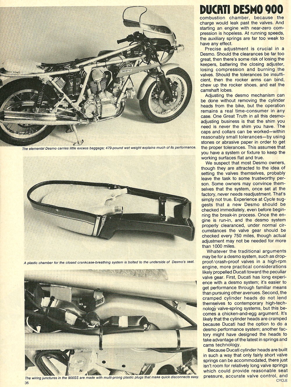 1978 Ducati Desmo 900 Super Sport Road Test 05: Ducati 450 Rt Wiring Diagram At Jornalmilenio.com