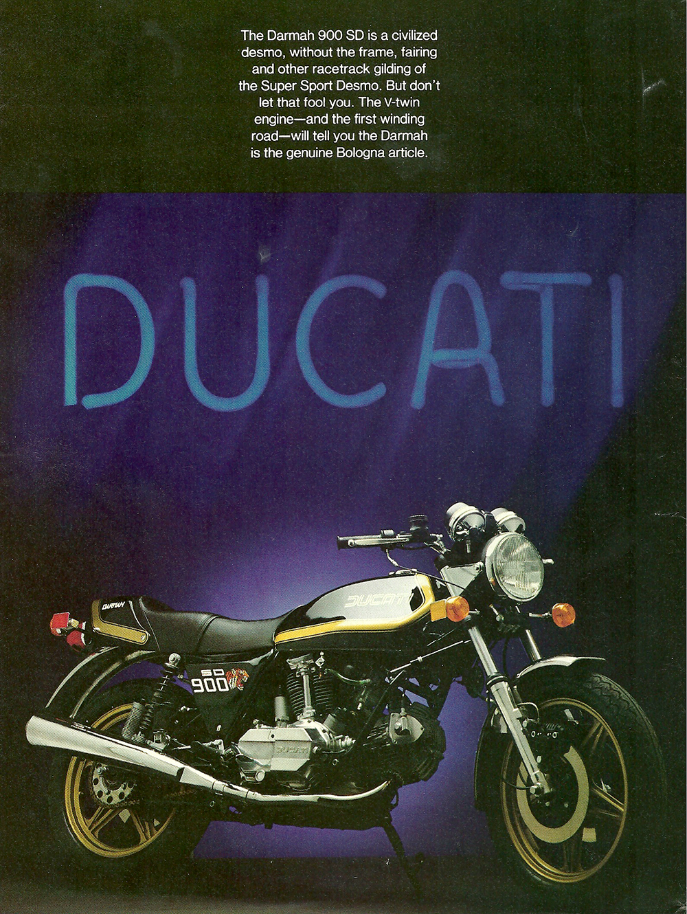 1980 Ducati Darmah 900 SD road test 01.jpg