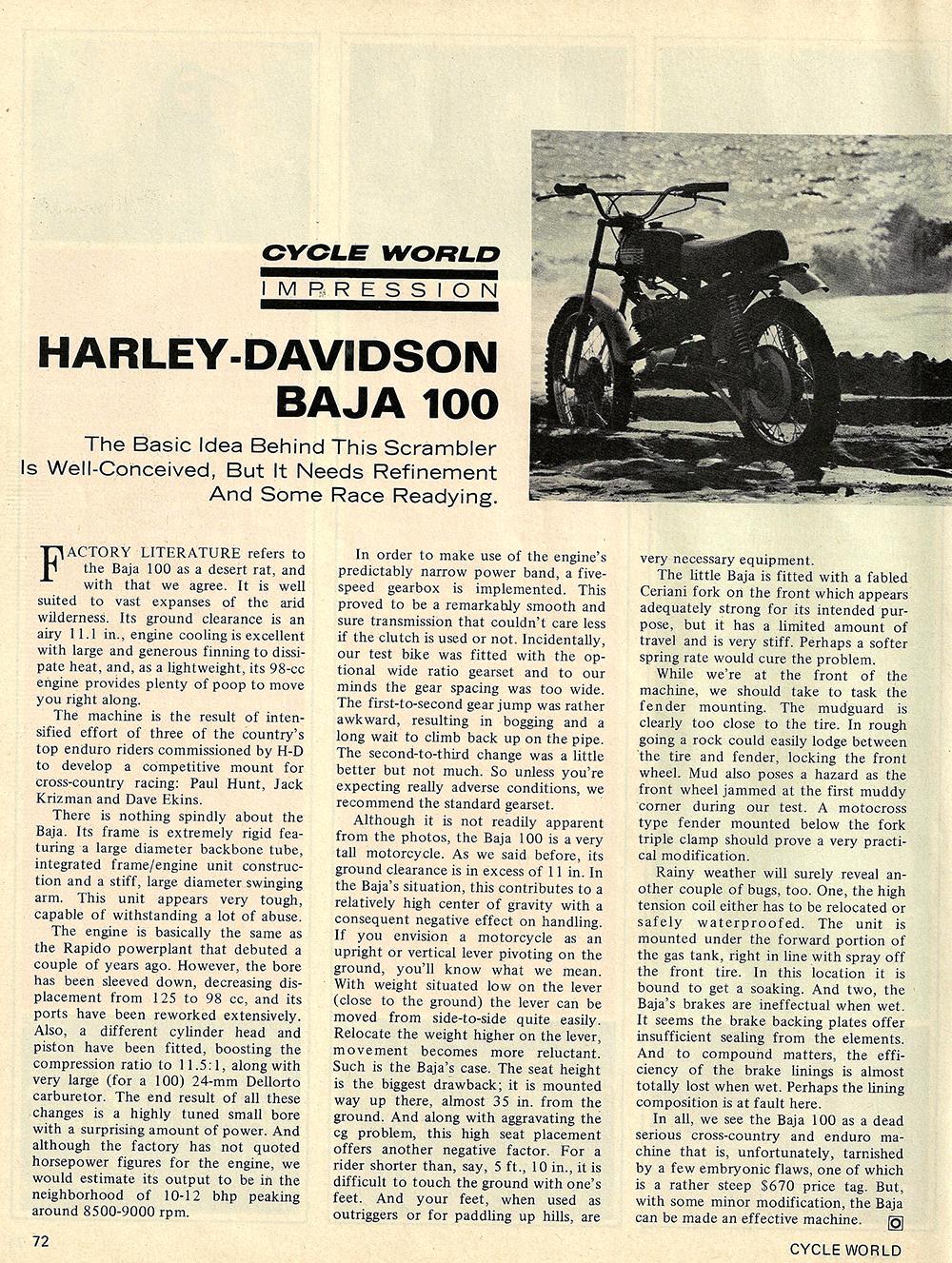 1970 Harley davidson baja 100 road test 01.jpg