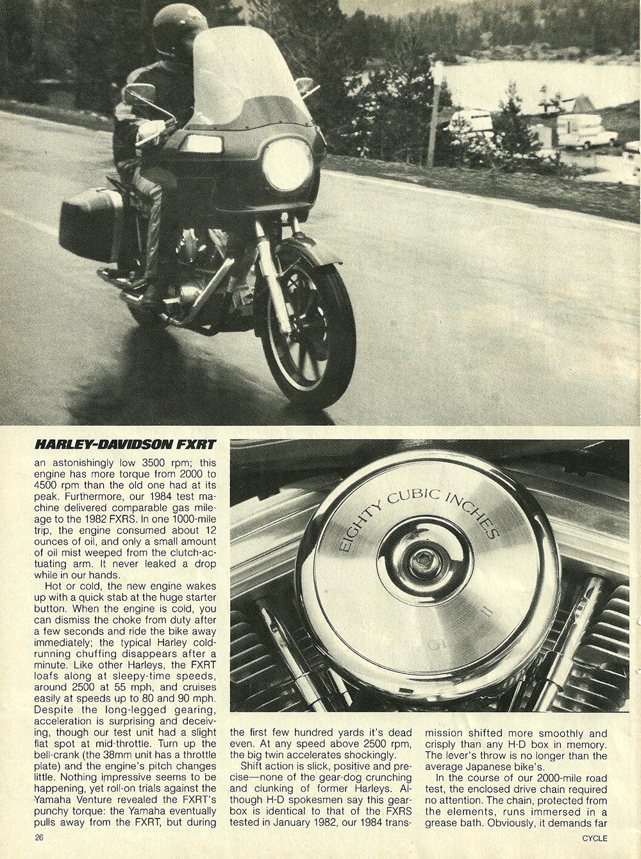 1983 Harley Davidson FXRT Sport Glide road test 3.jpg