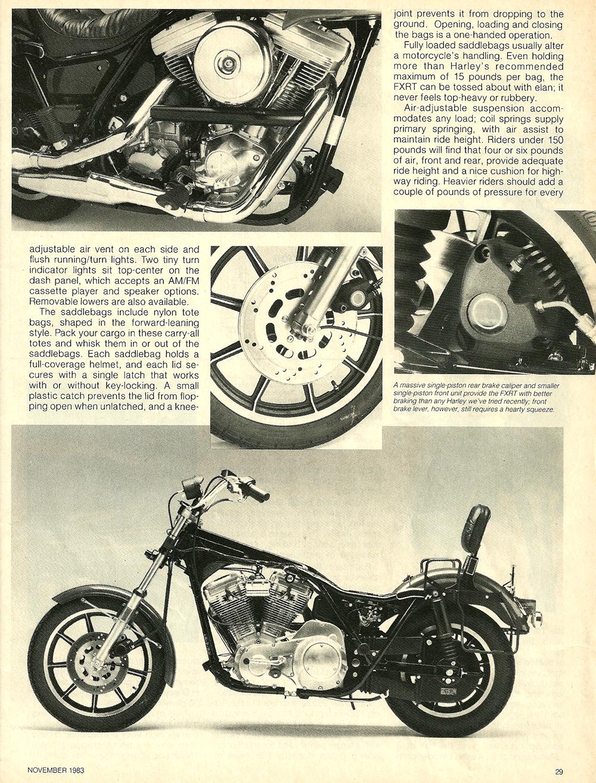 1983 Harley Davidson FXRT Sport Glide road test 6.jpg