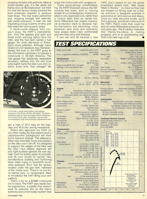 1983 Harley Davidson FXRT Sport Glide road test 8.jpg