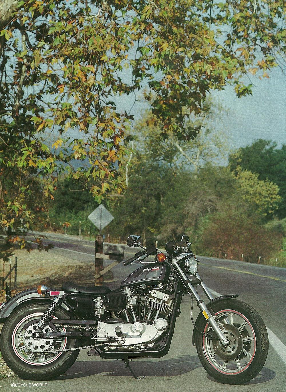 1983 Harley-Davidson XR1000 road test 03.jpg