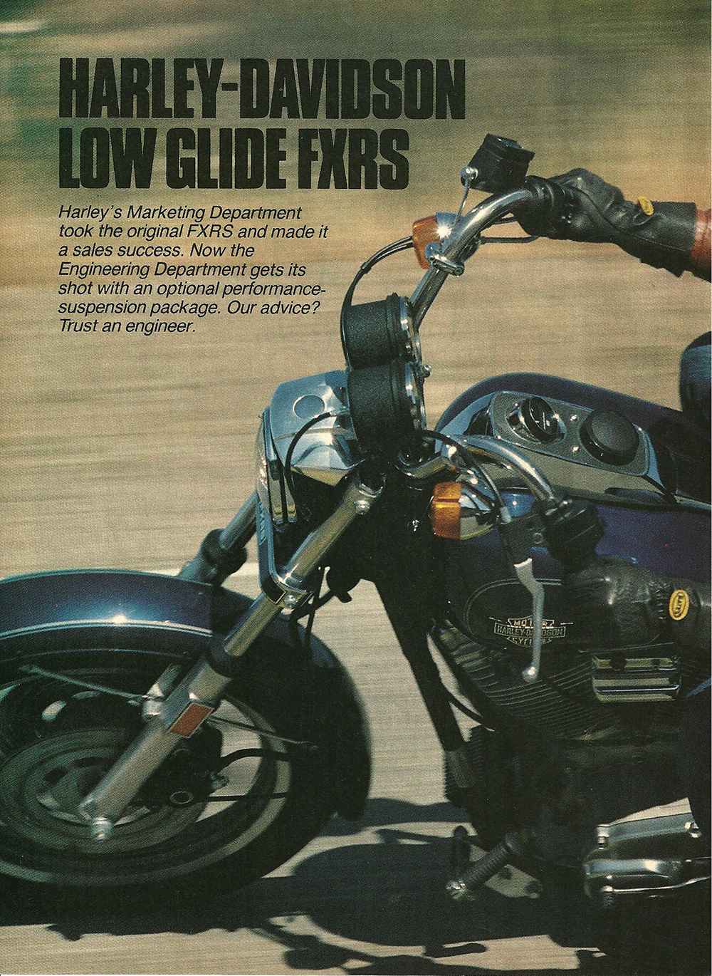 1984 Harley-Davidson Low Glide FXRS road test 1.jpg