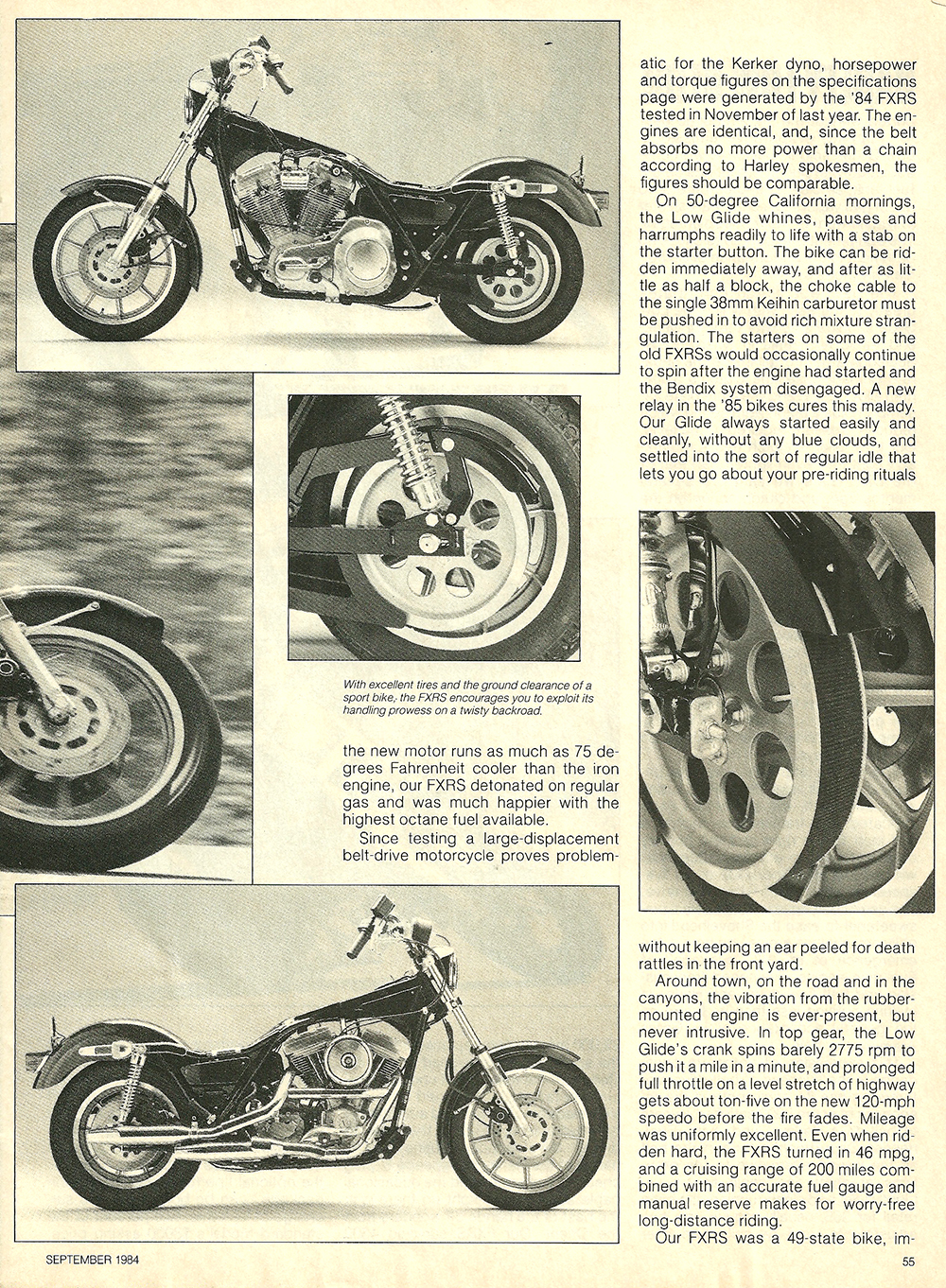 1984 Harley-Davidson Low Glide FXRS road test 6.jpg