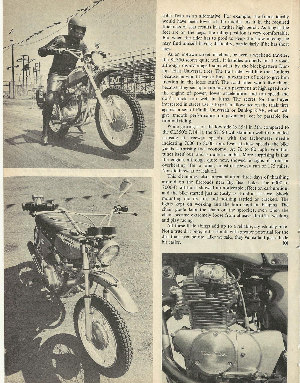 1969 Honda SL350 road test 3.jpg