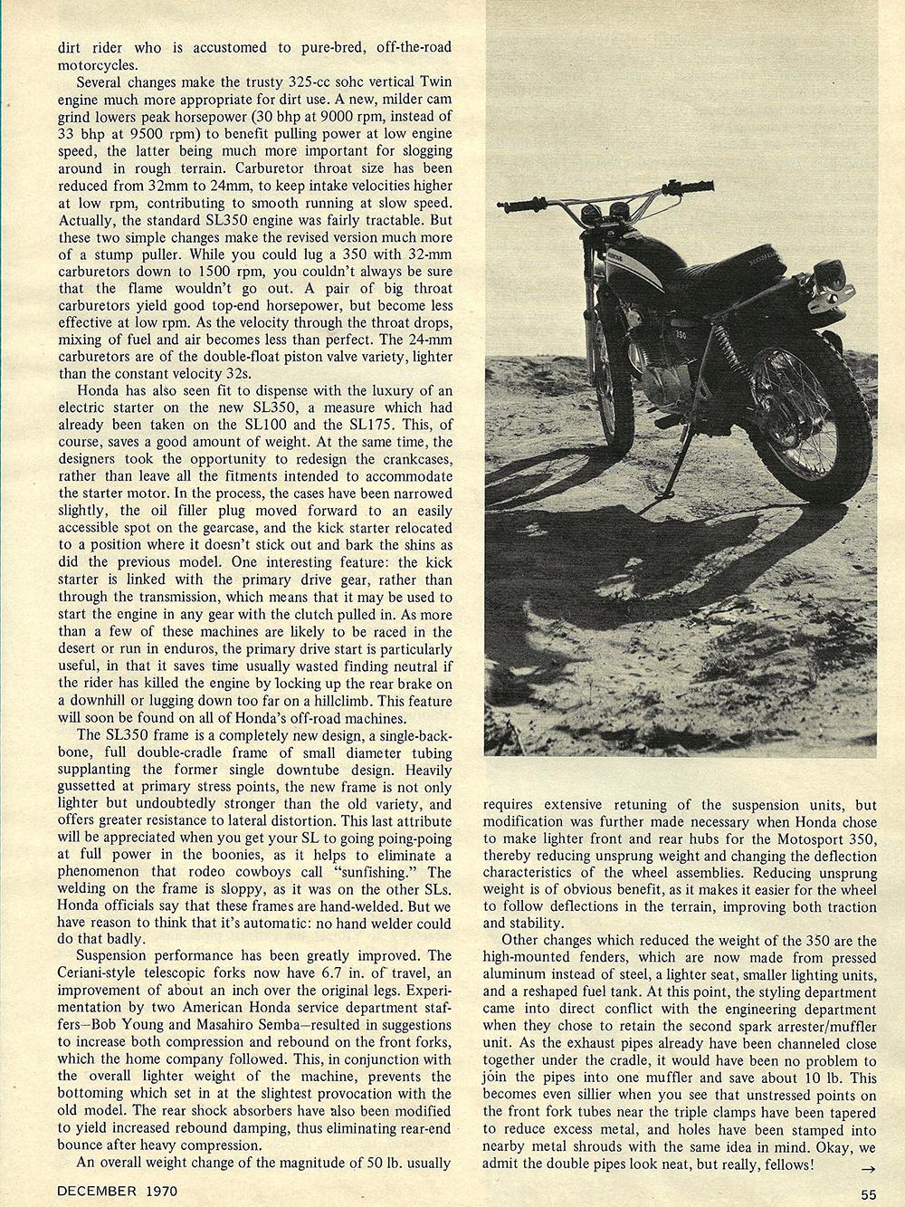 1970 Honda Motosport SL350 road test 02.jpg