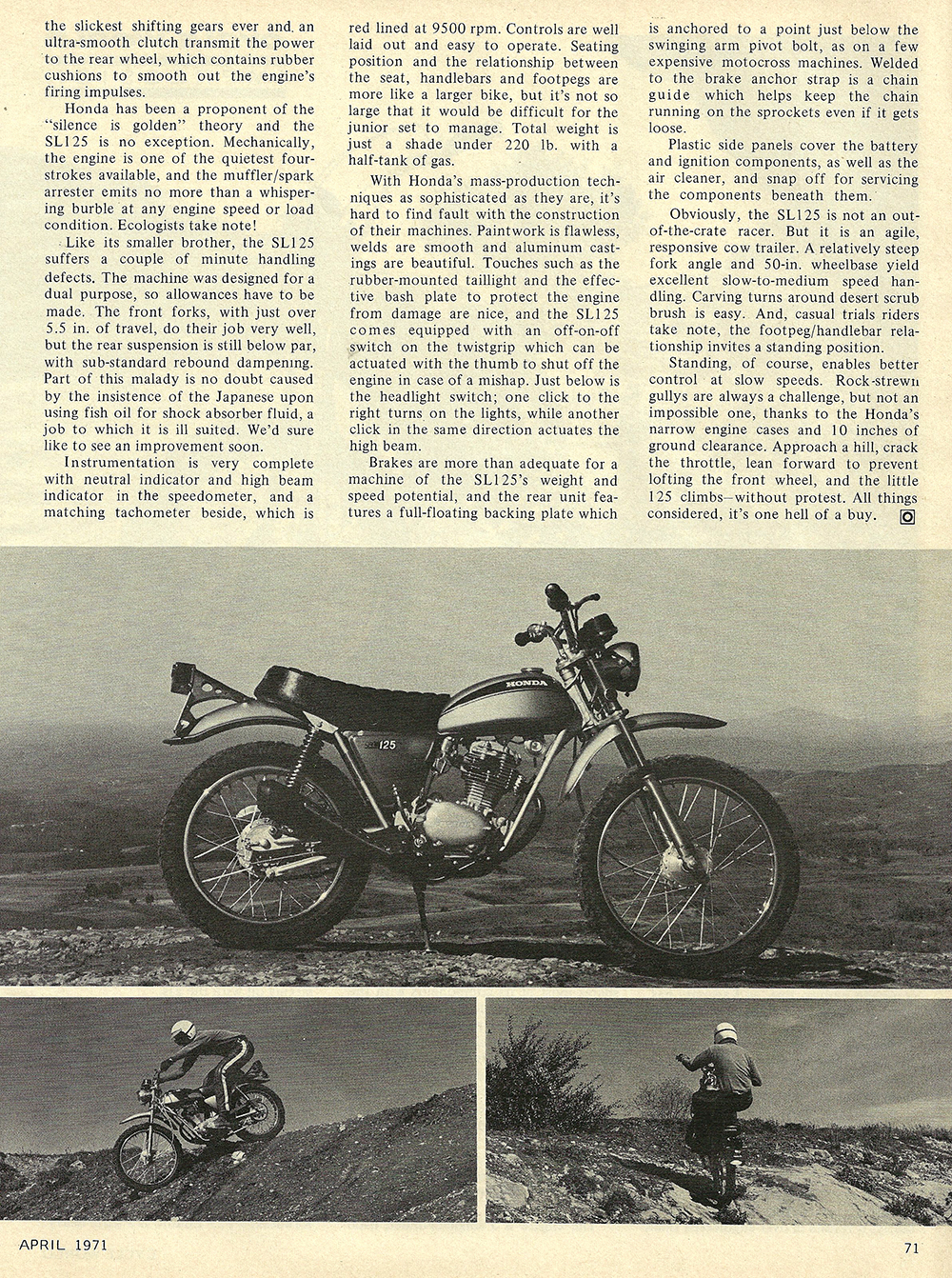 1971 Honda SL125 short test 02.jpg