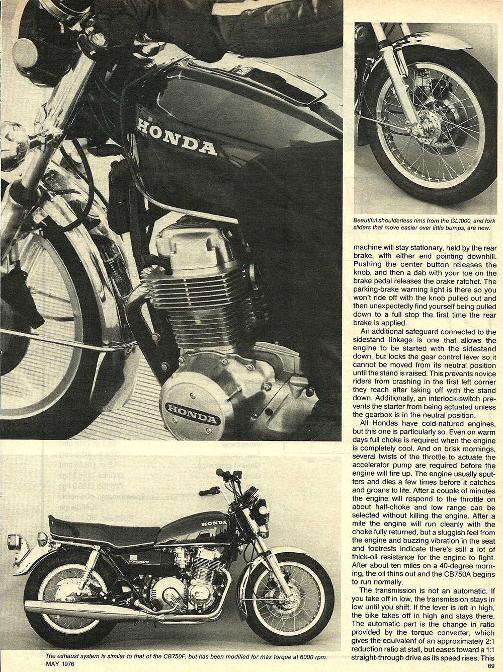 1976 Honda CB750A road test 4.JPG