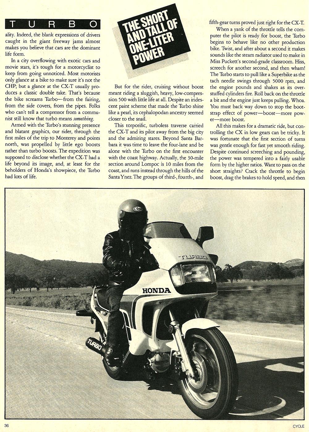 1982 Honda CBX vs CX 500 Turbo road test 06.jpg