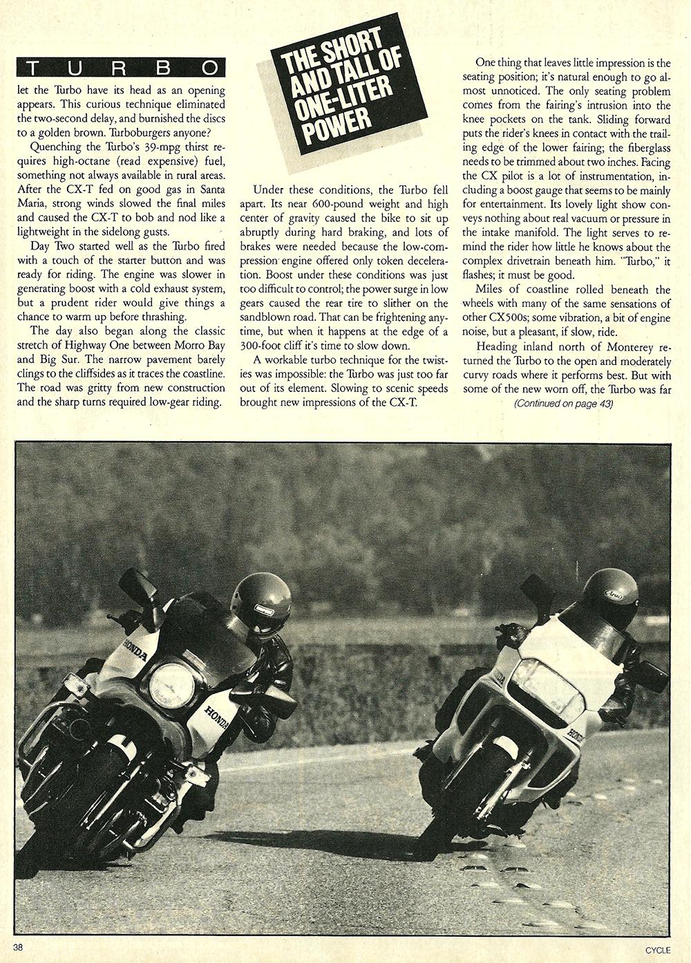 1982 Honda CBX vs CX 500 Turbo road test 07.jpg