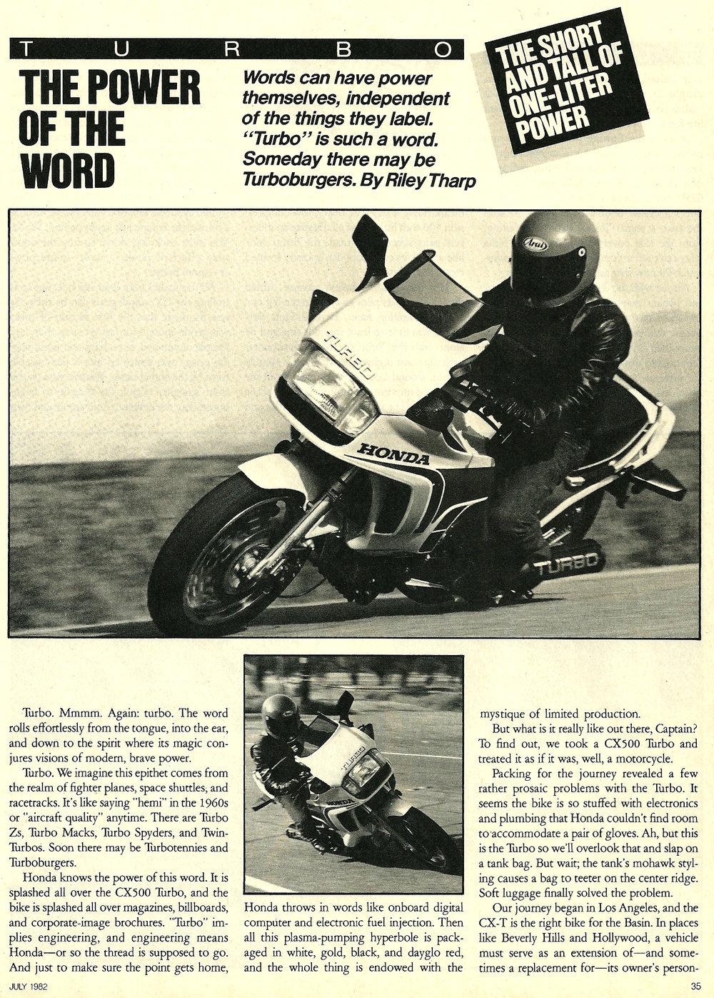 1982 Honda CBX vs CX 500 Turbo road test 05.jpg