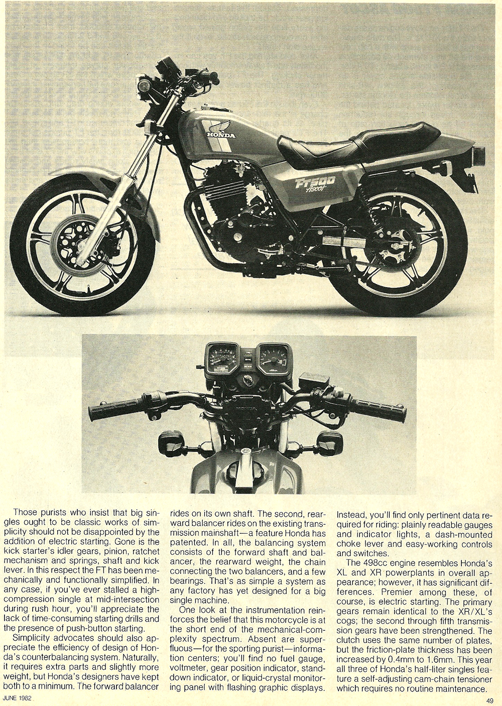 1982 Honda FT500 Ascot road test 2 04.jpg