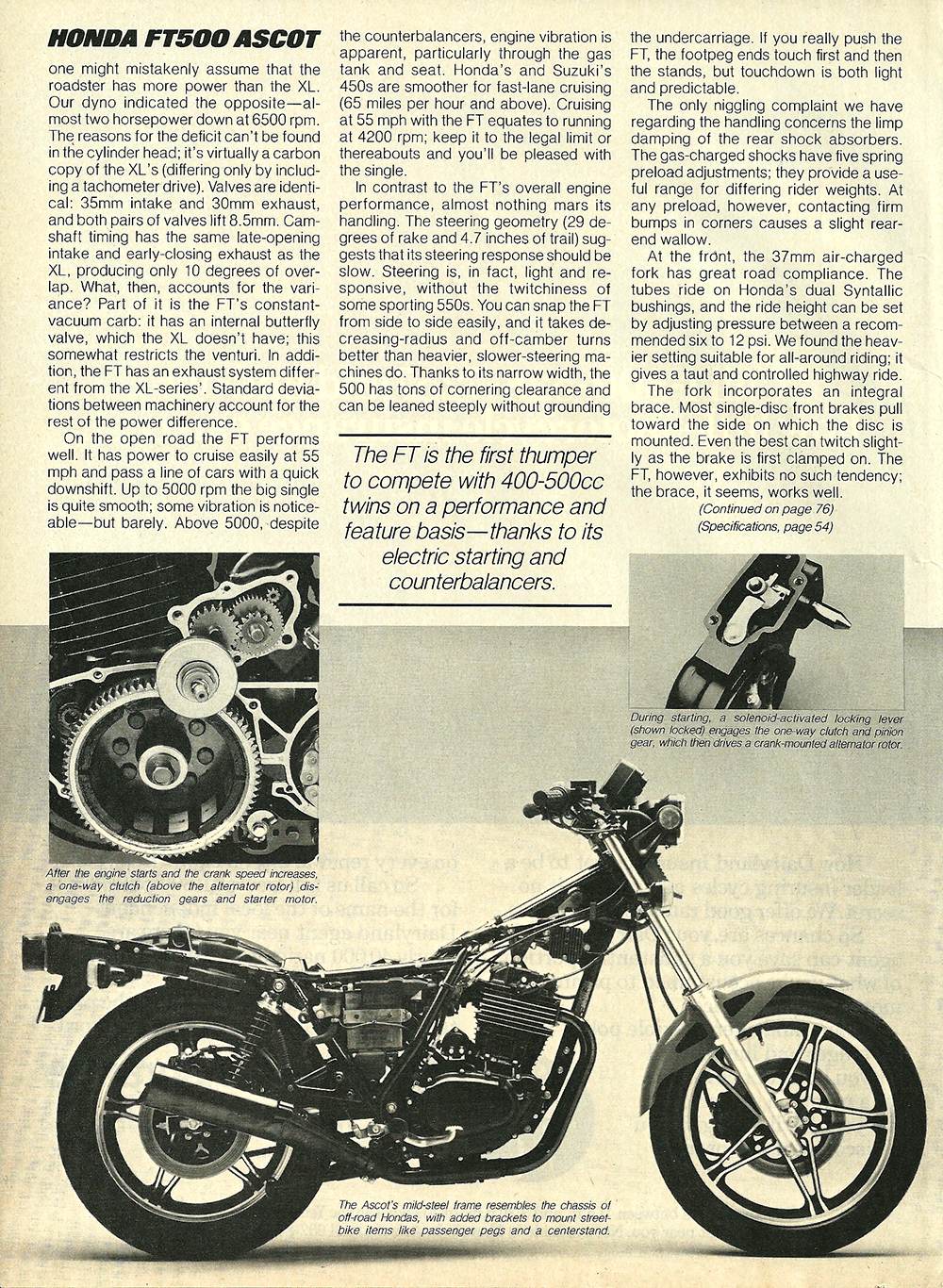 1982 Honda FT500 Ascot road test 2 06.jpg