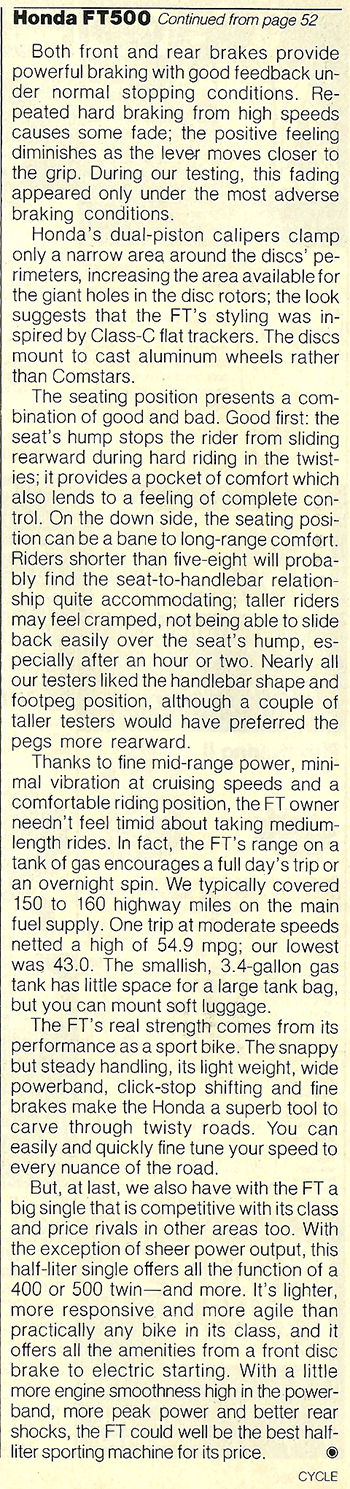 1982 Honda FT500 Ascot road test 2 08.jpg