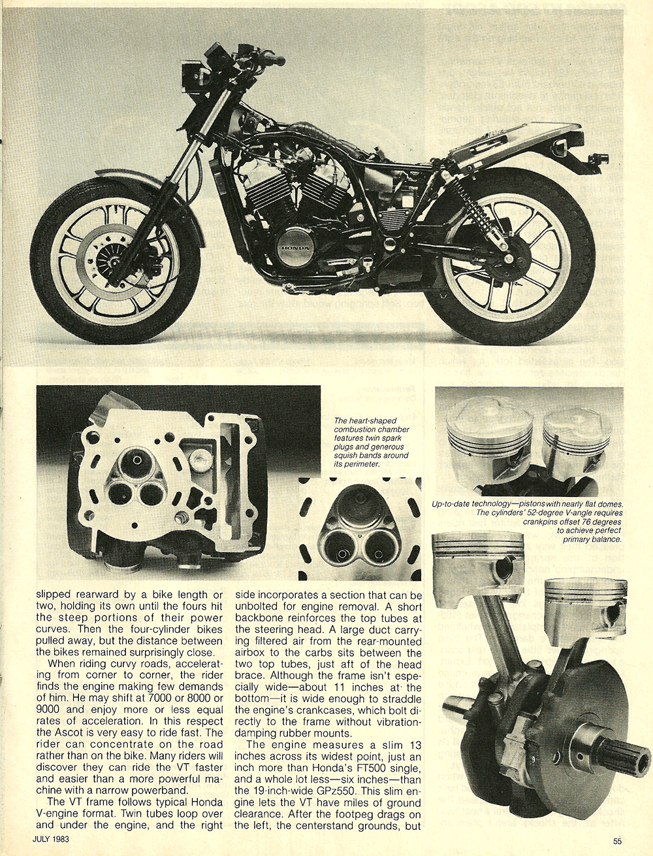1983 Honda VT500 Ascot road test 6.jpg
