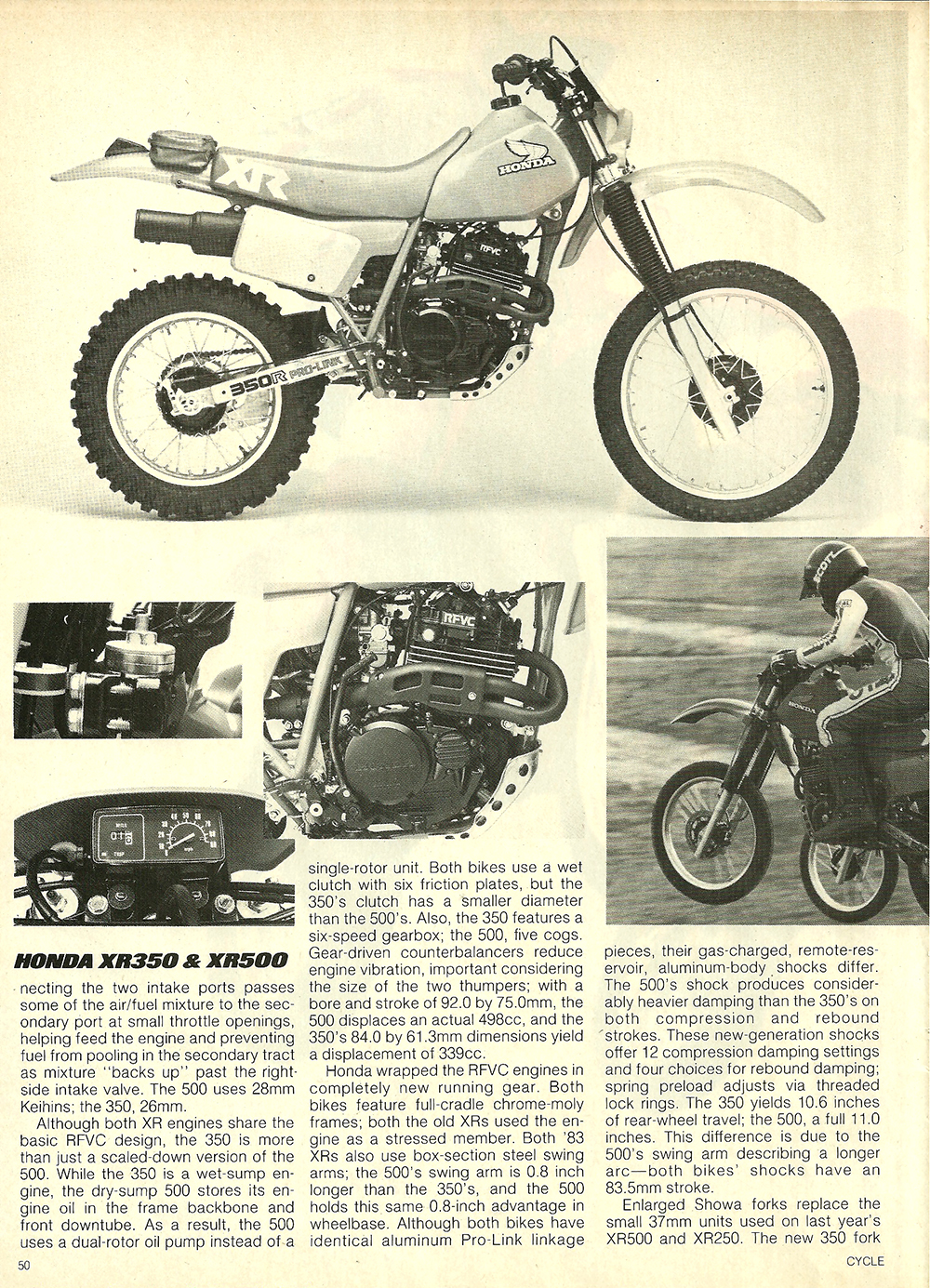 1983 Honda XR350R XR500R road test 3.jpg