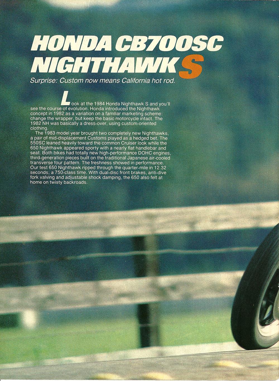 1984 Honda CB700SC Nighthawk S road test 1.jpg