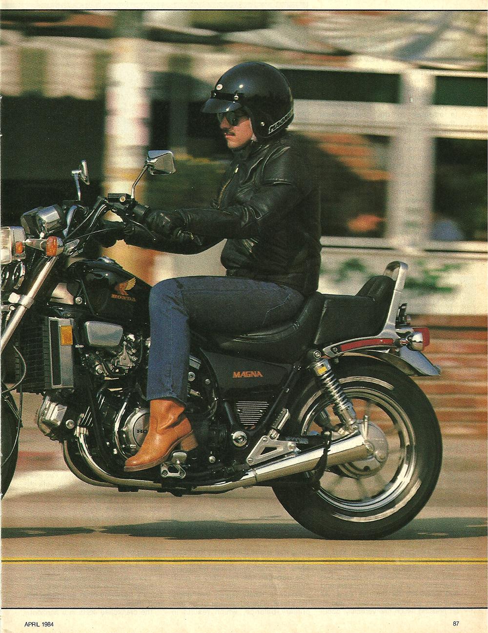1984 Honda VF700C Magna road test 2.jpg