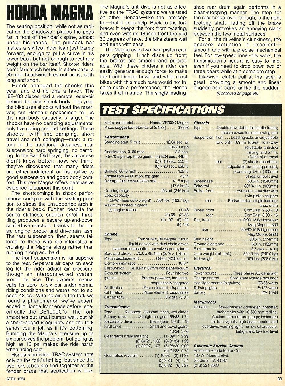 1984 Honda VF700C Magna road test 7.jpg