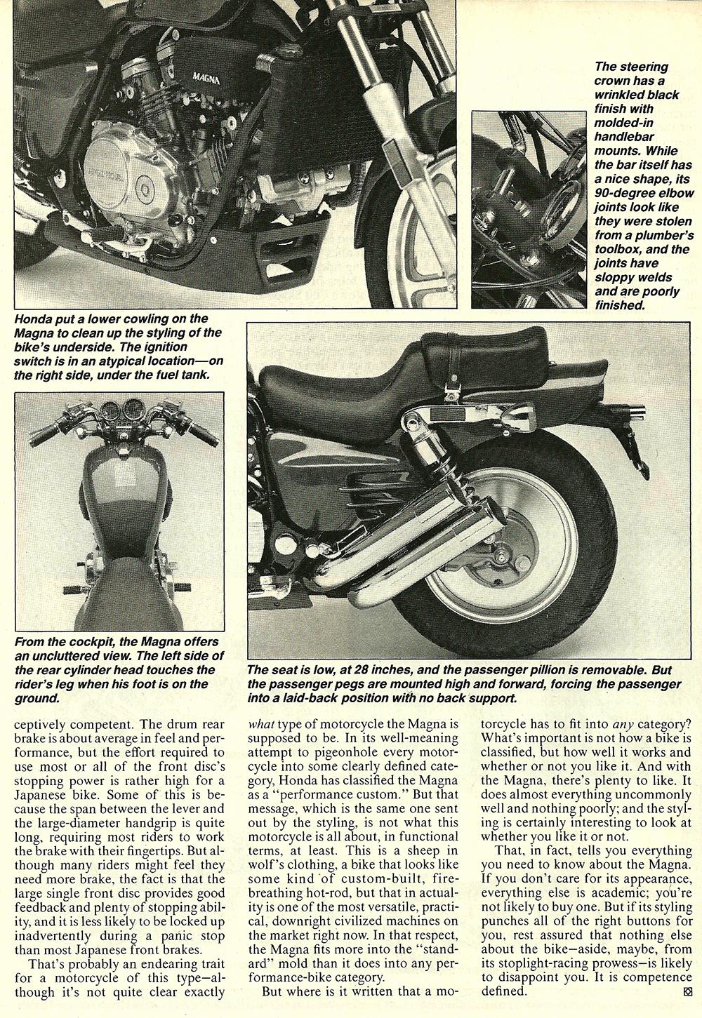 1987 Honda 700 Magna road test 05.jpg