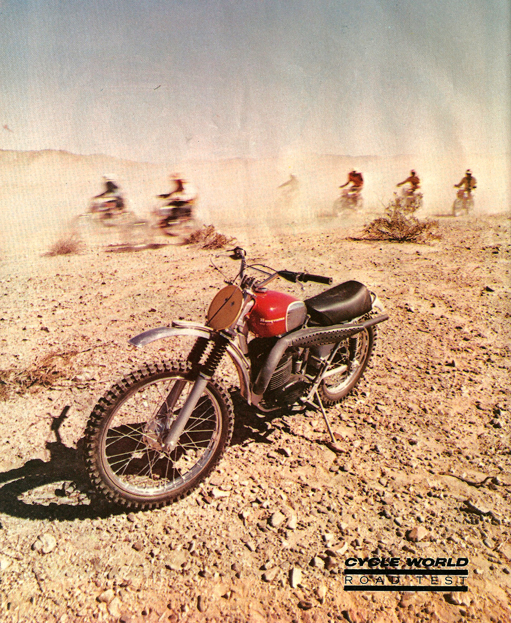 1969 Husqvarna 400 Cross and Sportsman 360C Enduro road test 1.jpg