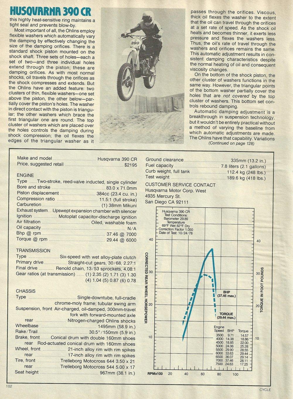 1979 Husqvarna 390 CR off road test 5.JPG
