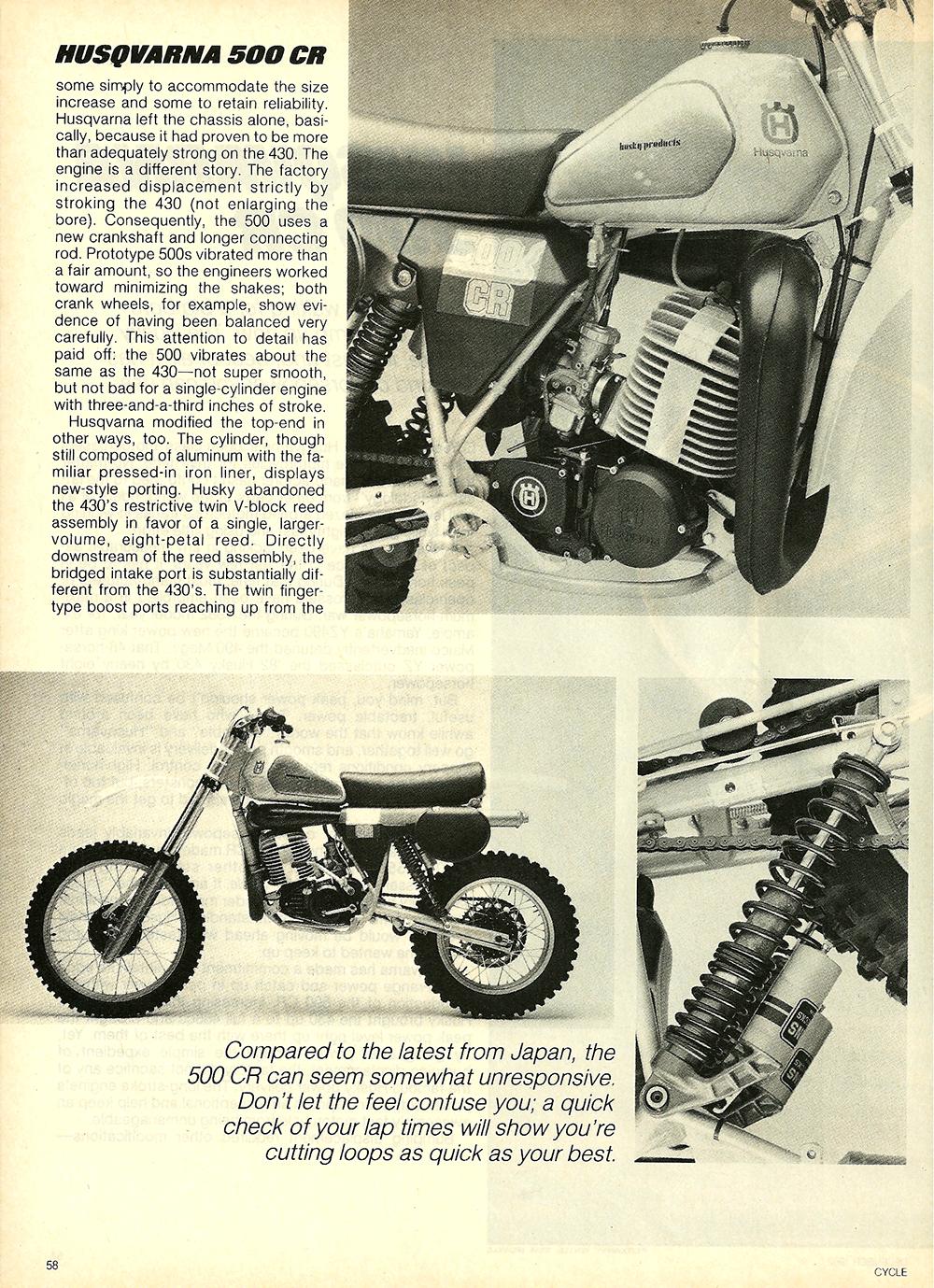 1983 Husqvarna 500 CR road test 3.jpg