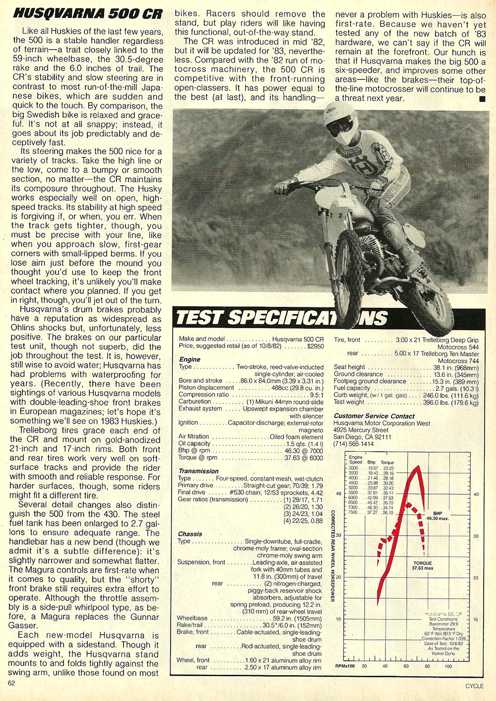 1983 Husqvarna 500 CR road test 7.jpg