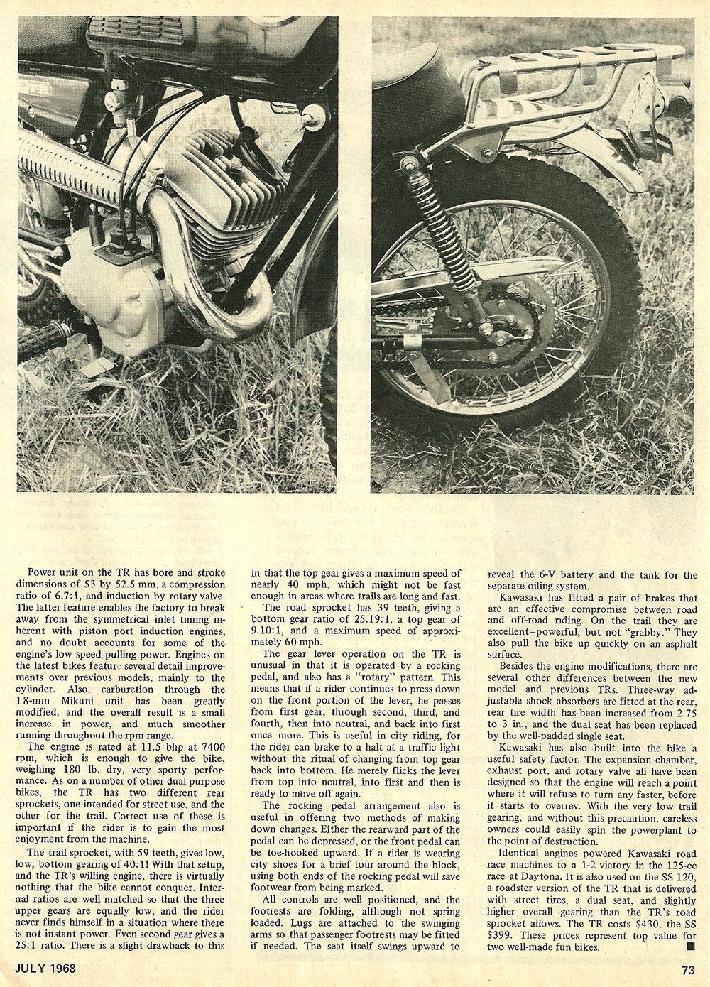 1968 Kawasaki 120 C2TR road test 02.jpg