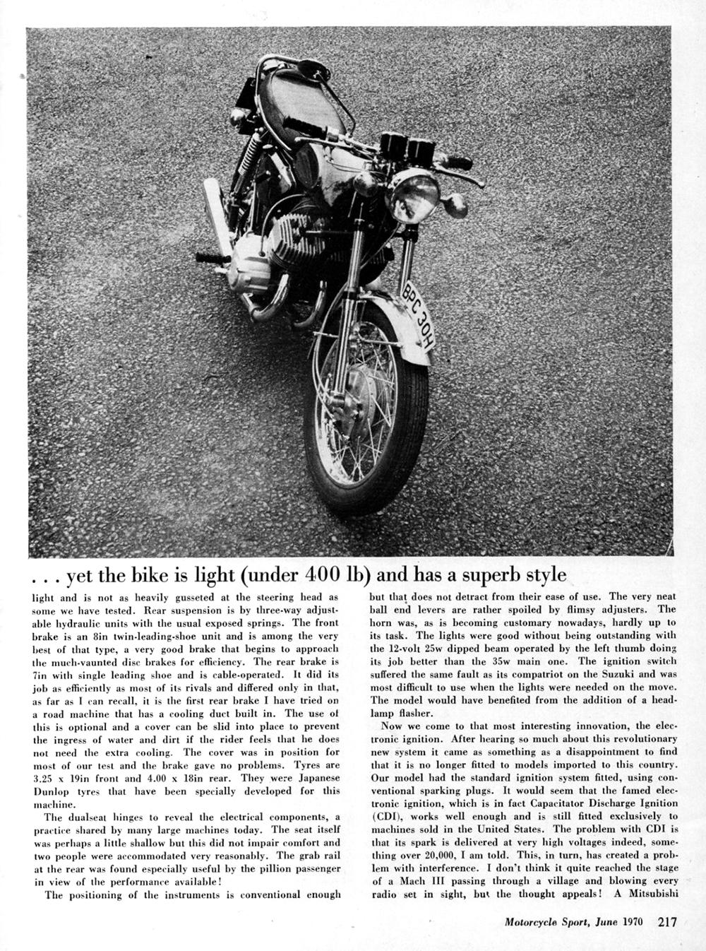 1970 Kawasaki 500 Mach 3 road test 4.jpg