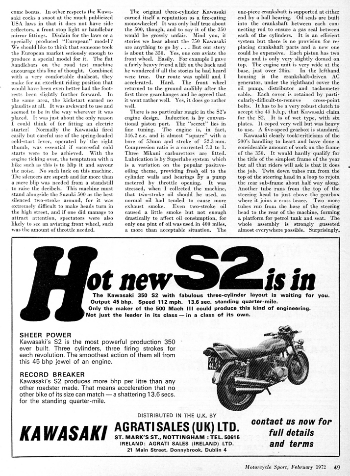 1972 Kawasaki 350 S2 road test 2.jpg