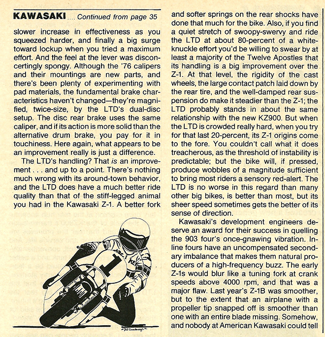 1976 Kawasaki KZ900 LTD road test 7.jpg
