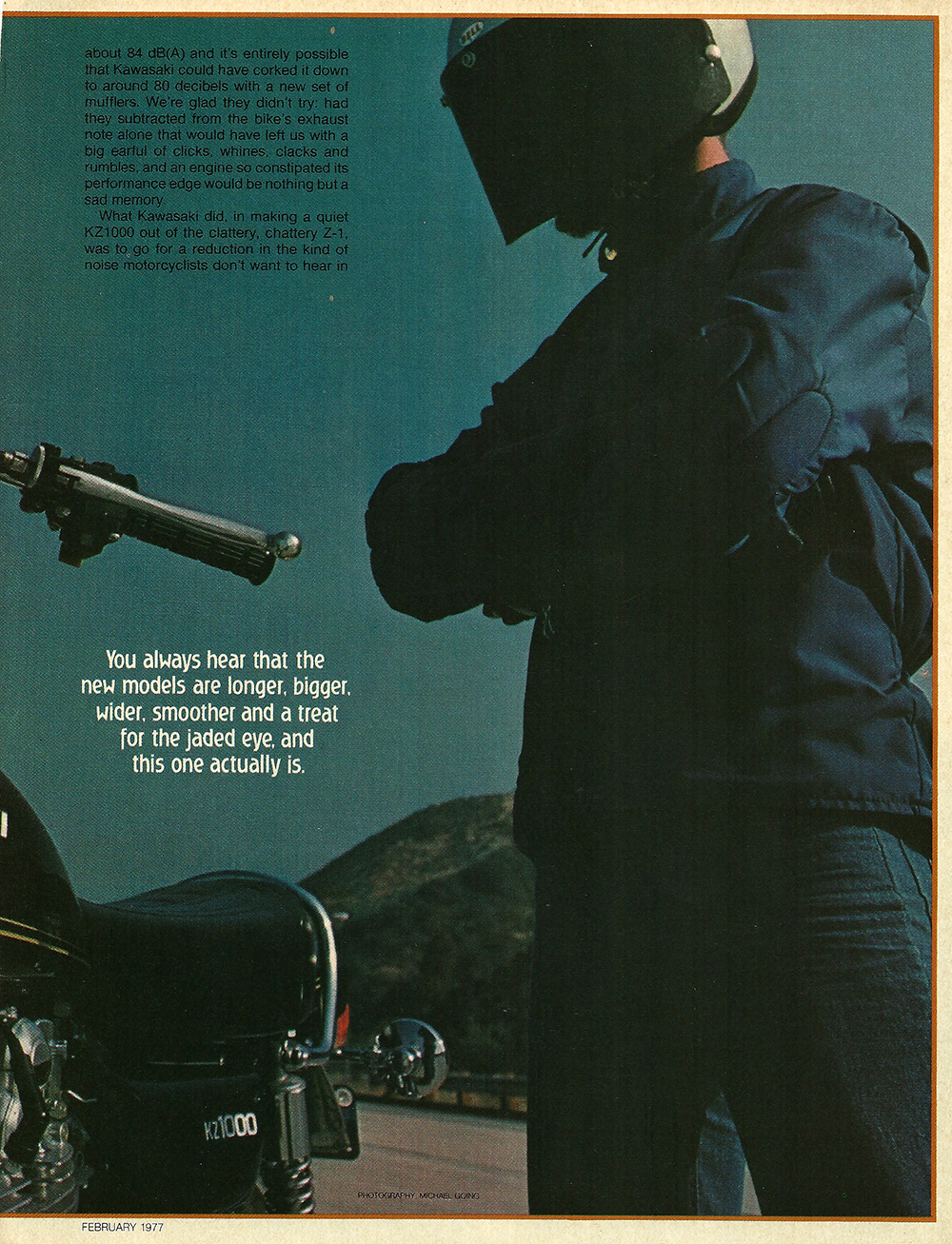 1977 Kawasaki KZ1000 road test 2.jpg