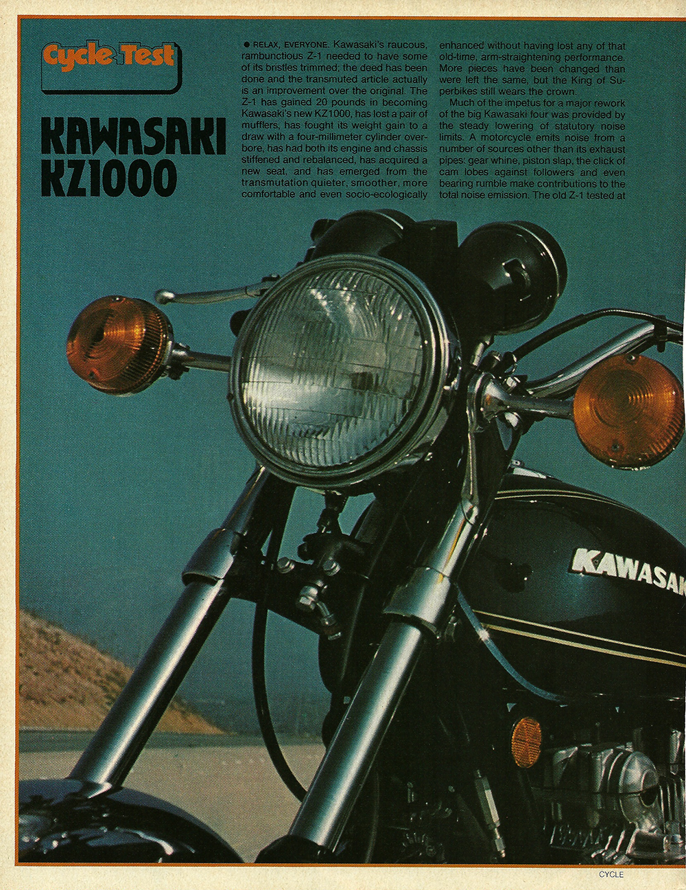 1977 Kawasaki KZ1000 road test 1.jpg
