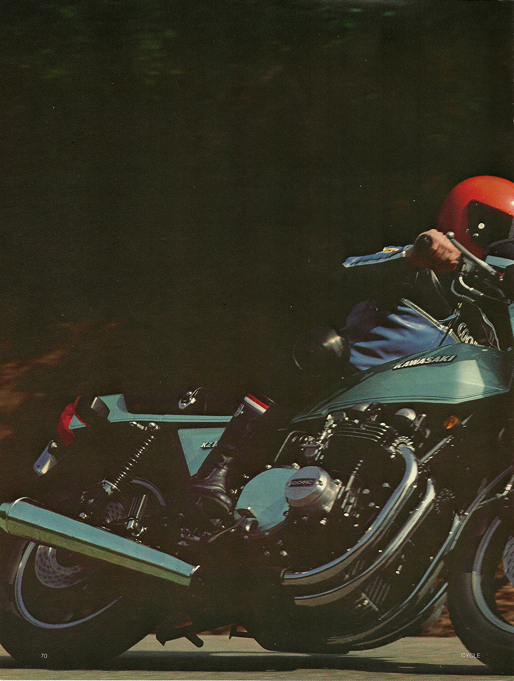 1977 Kawasaki Z1R road test 01.jpg