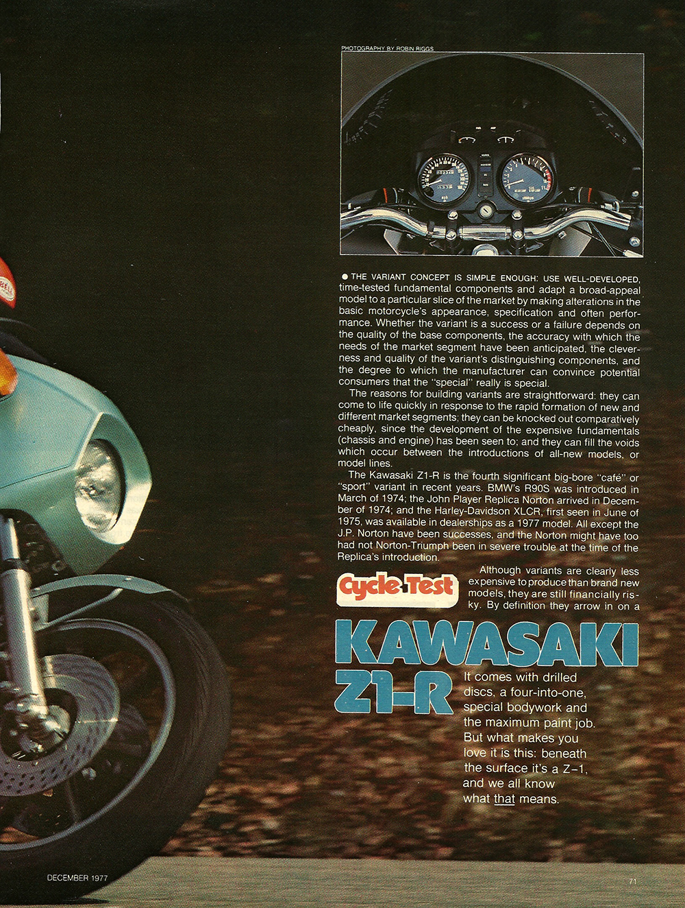 1977 Kawasaki Z1R road test 02.jpg