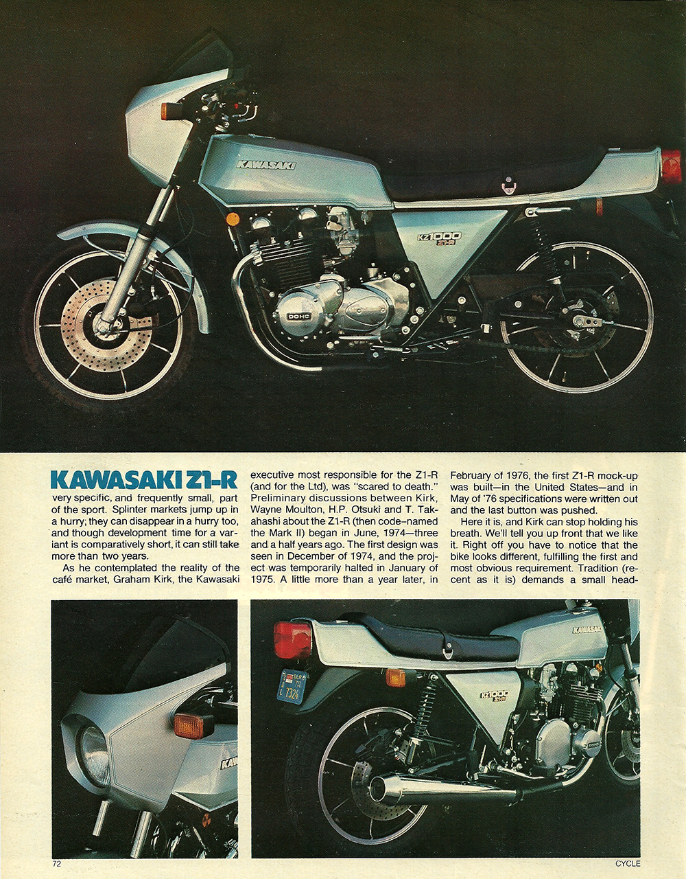 1977 Kawasaki Z1R road test 03.jpg