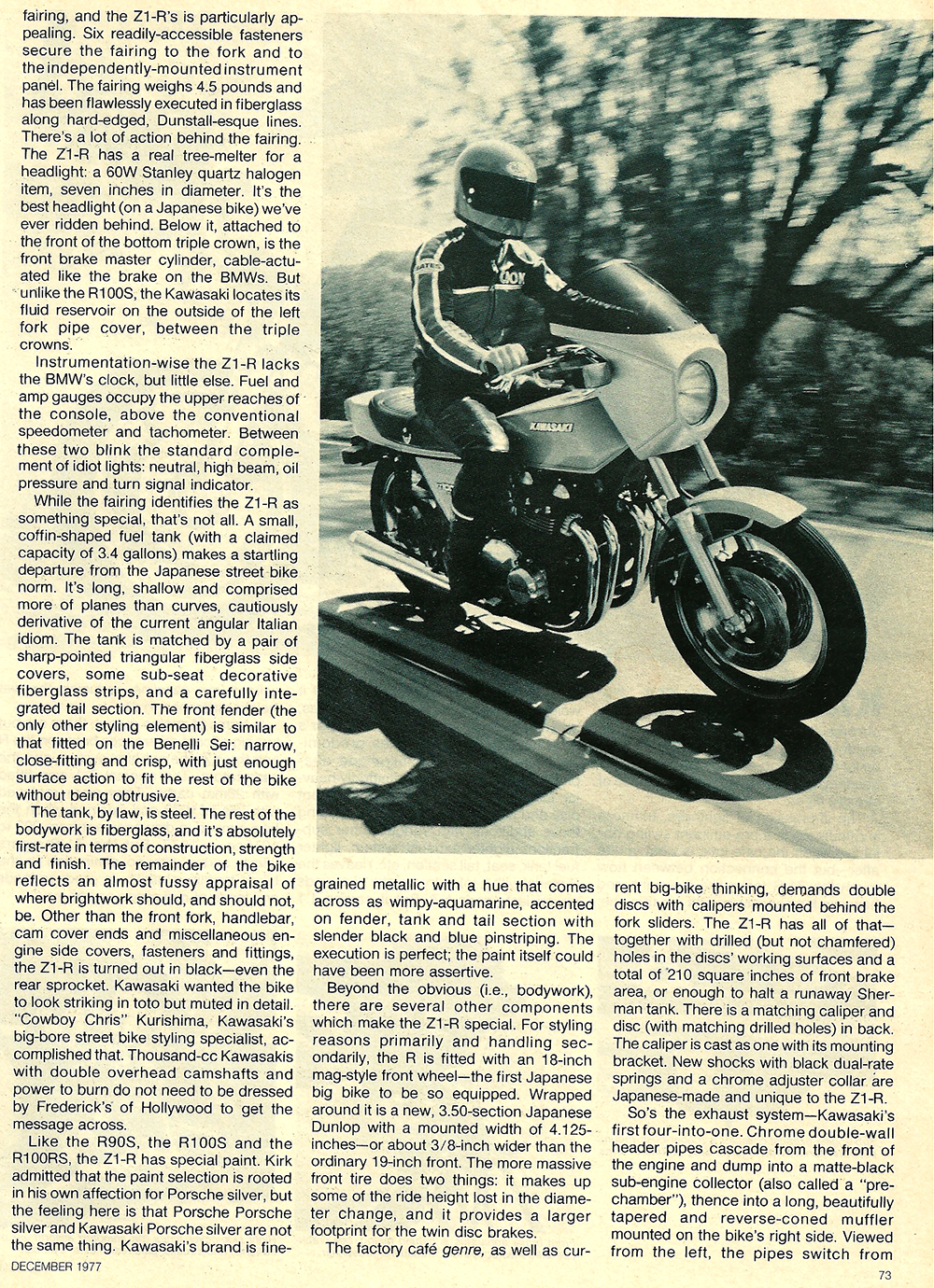1977 Kawasaki Z1R road test 04.jpg