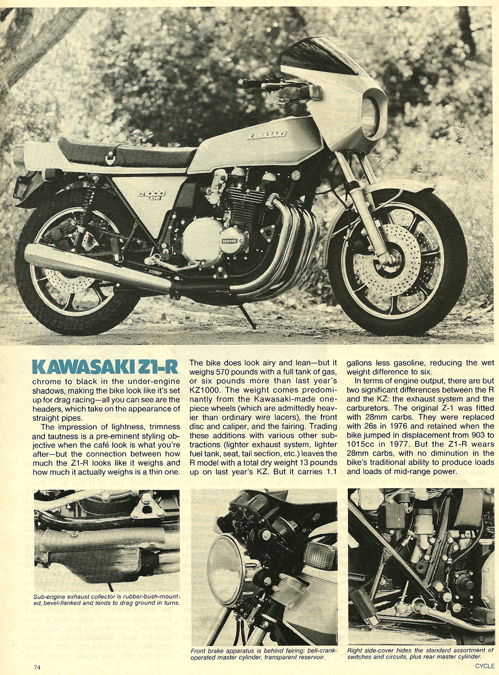 1977 Kawasaki Z1R road test 05.jpg