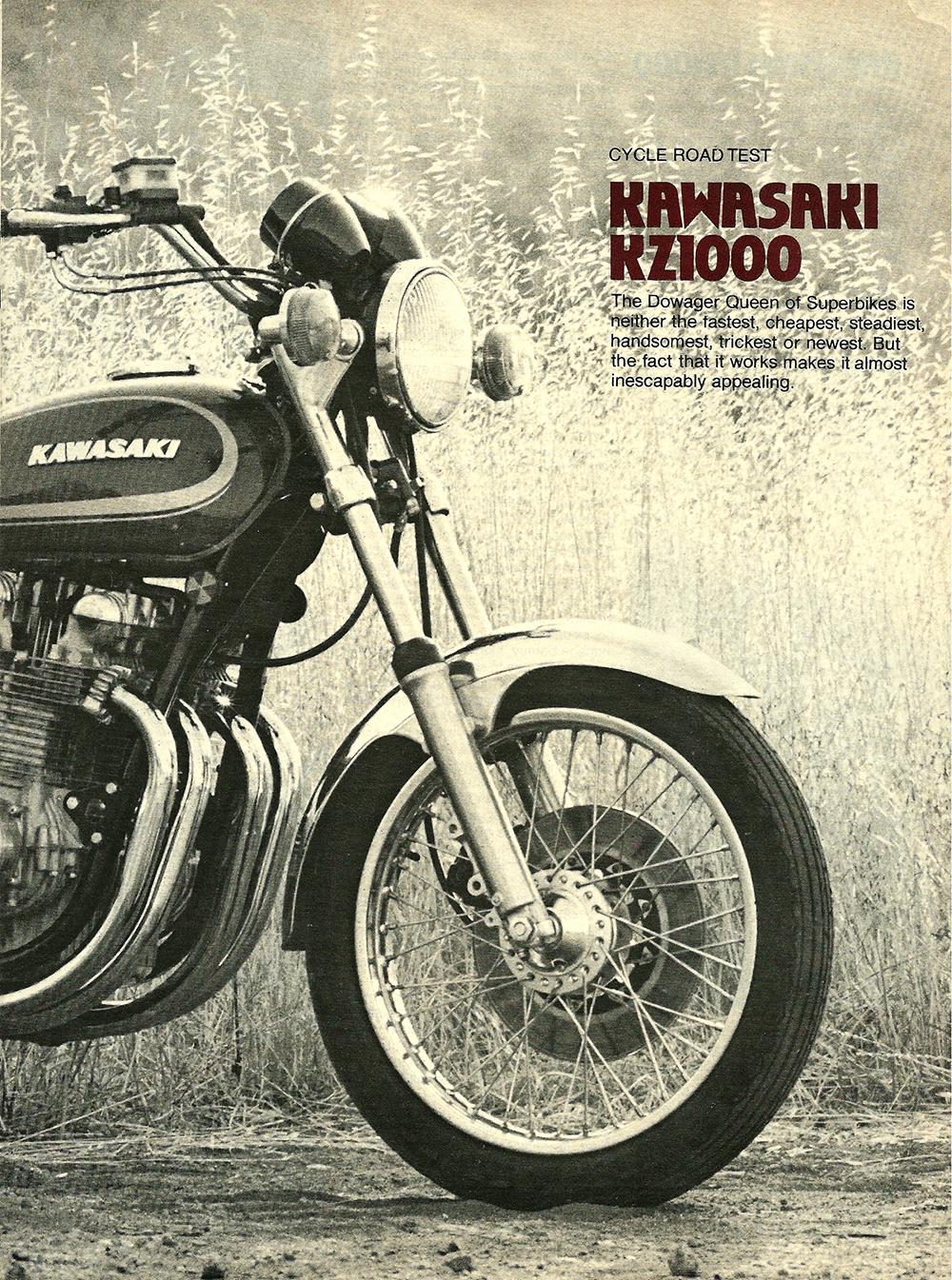1978 Kawasaki KZ1000 road test 02.jpg