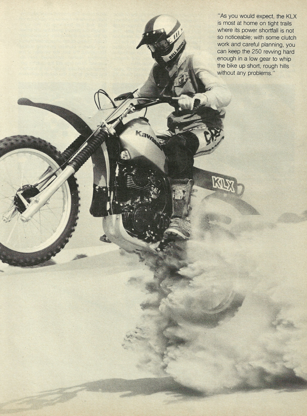 1979 Kawasaki KLX250 off road test 6.jpg