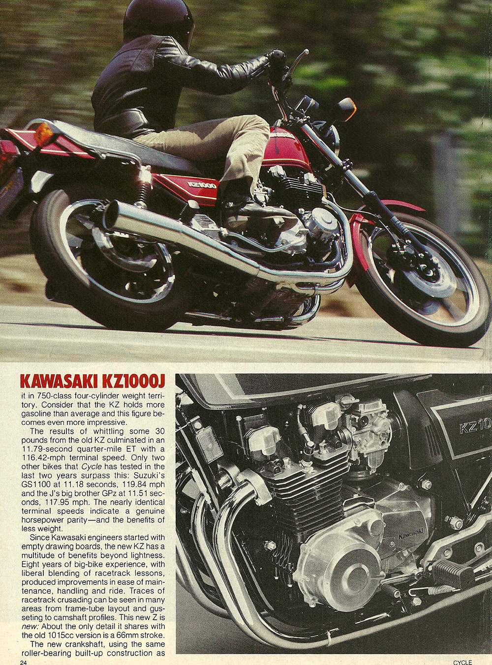 1981 Kawasaki KZ1000 J road test 03.jpg